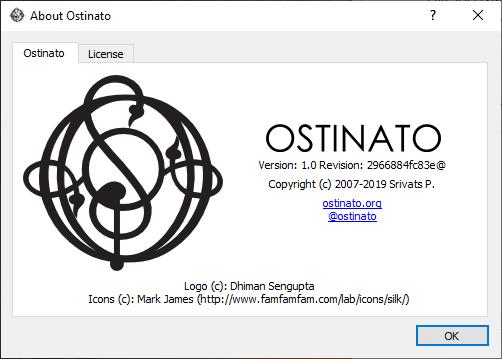 Ostinato full screenshot